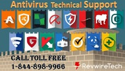 Want Online Antivirus Support via Remote Connection? Call @ 8448989966